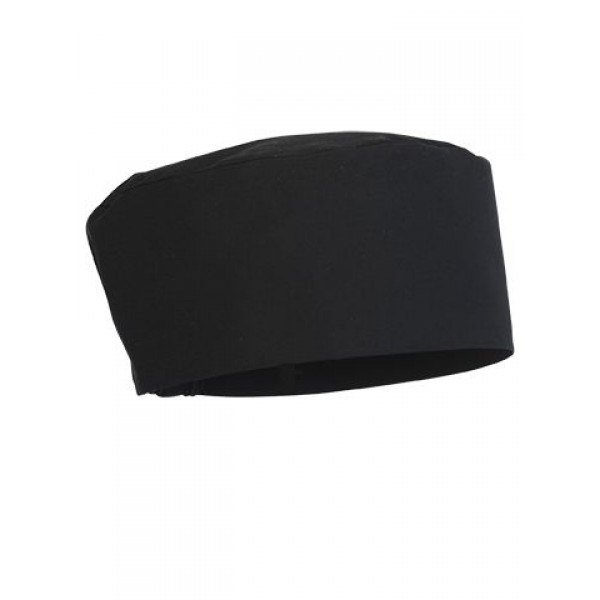Chef hoofdband bandi wit of zwart one size