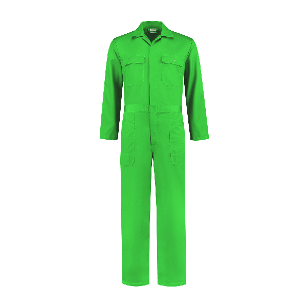 Overall polyester/katoen