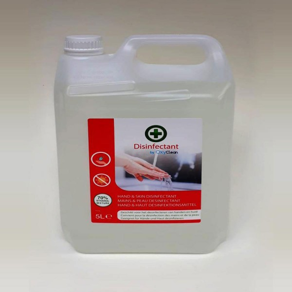 Desinfectiemiddel 70% Handalcohol - 5L