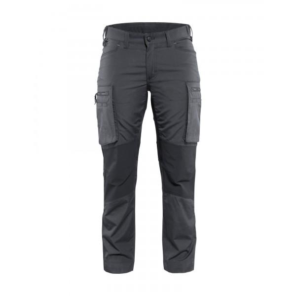 Duurzame zwarte of blauwe werkbroek met stretch voor vrouwen van BLÅKLÄDER