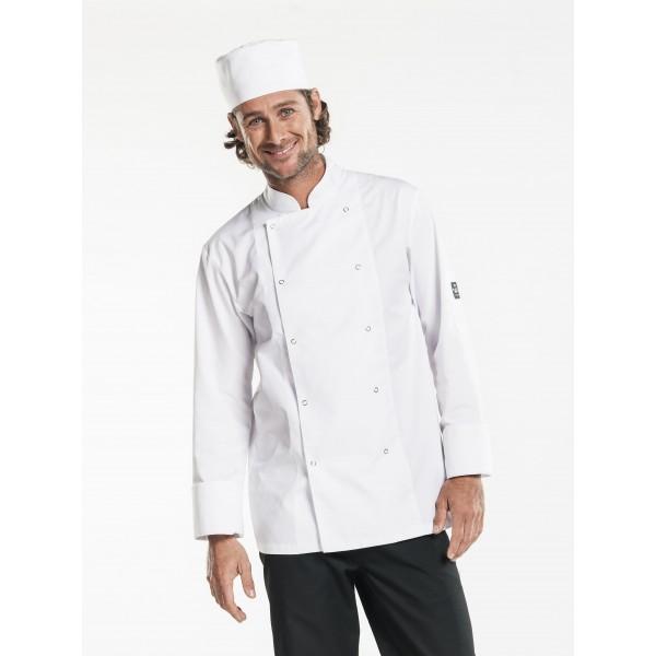Chef jacket hilton poco wit of zwart