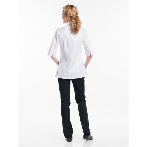 Chef jacket lady comfort wit 3/4 sleeve