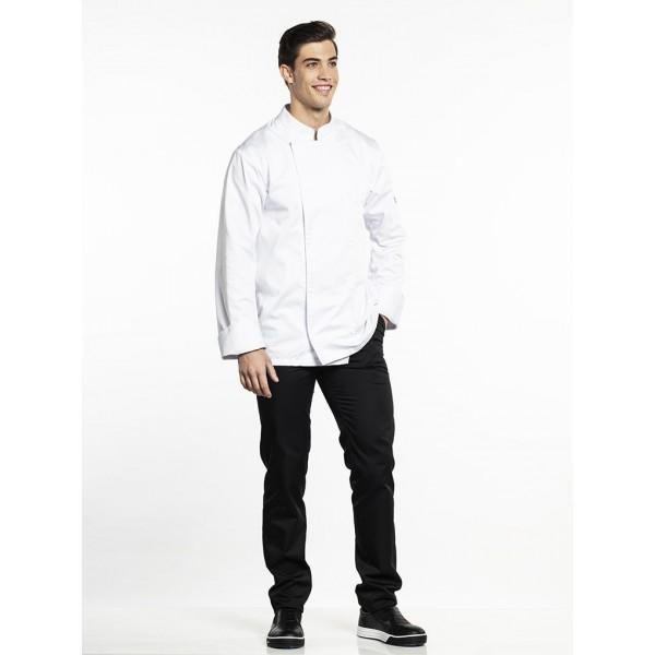 Chef jacket roma wit of zwart