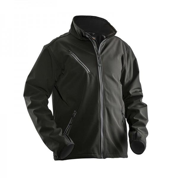 Warme zwarte of grijze fleece jas met ruime zakken...