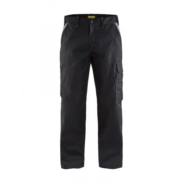 Zwarte of grijze werkbroek comfortabel stevig en s...