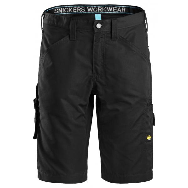 Zwarte blauwe of khaki korte lichte werkbroek of w...